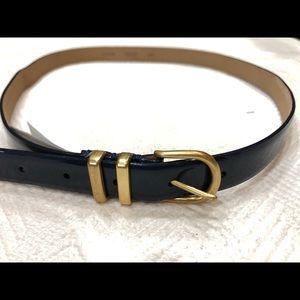 J. CREW Genuine Leather MEDIUM Belt